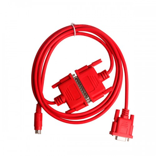 SC-09:red Standard programming cable for FX and A series PLC's