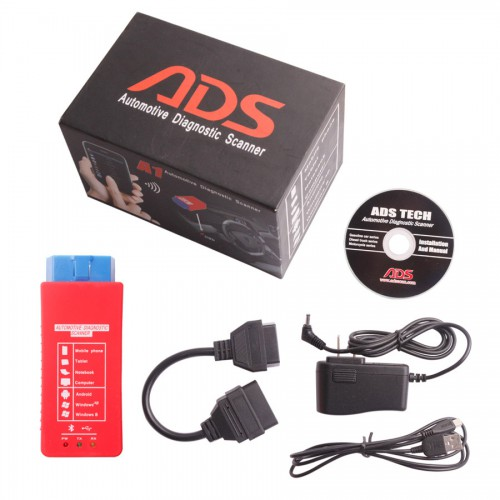Newest ADS A1 Bluetooth OBDII Scanner Best Offer