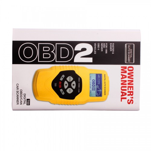 OBDII Auto Vehicle Scanner Diagnostic Tool T69(multilingual,updatable)