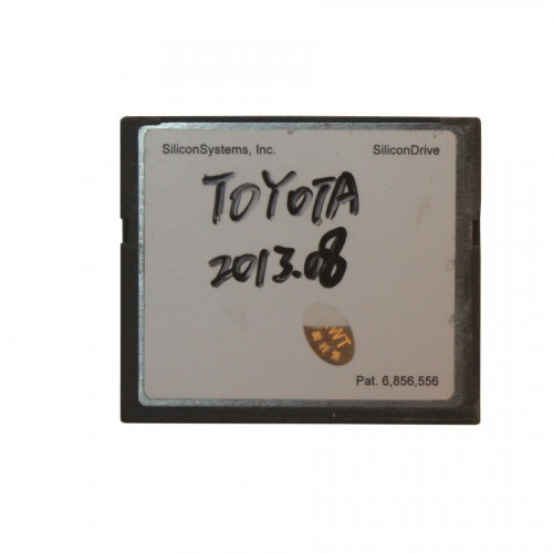 2015.12V 64MB TF Card for Toyota IT2