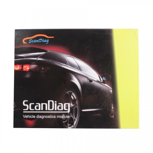 Scan Diag Box Standard Kit Scandiag with Bluetooth