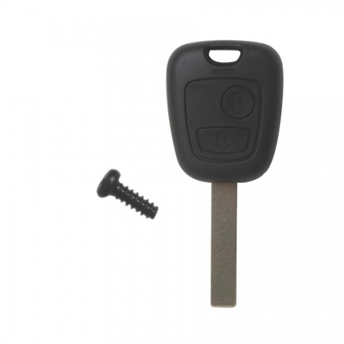 Remote Key Shell 2 Button HU83 for Peugeot  (Without Logo) 10pcs/lot