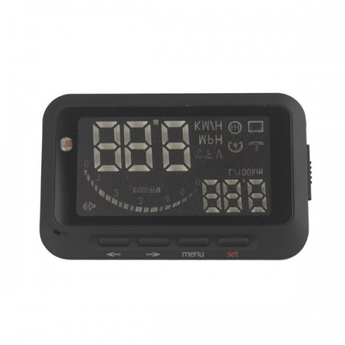 Car Head Up Display Vehicle-Mounted HUD Overspeed Warning OBD 2 System F02 On Sale