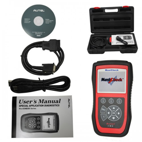 Autel MaxiCheck Oil Light/Service Reset Tool Update Online Buy SP173 Instead