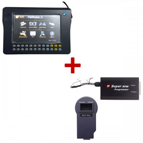 Original Digimaster 3 with Unlimited Version Plus Super BDM Programmer BVA/KEY Programmer