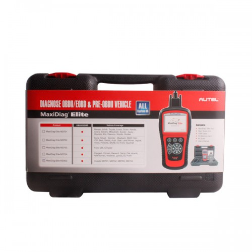 Original Autel MaxiDiag Elite MD802 Full System+DS Model Free Update Online Ship from UK/AU