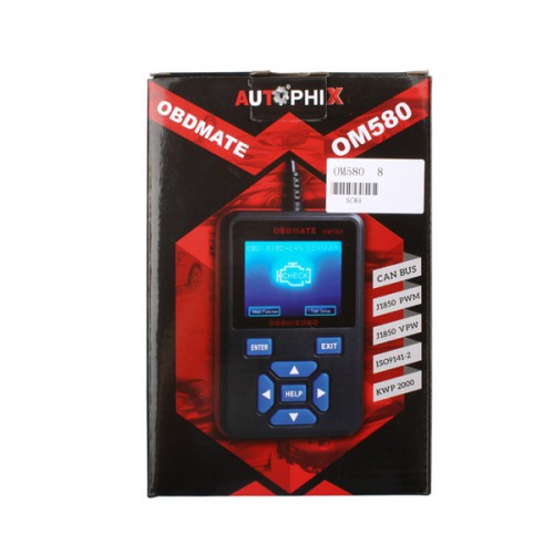 High quality OBDMATE OM580 OBDII OBD2 EOBD Code Read Scanner