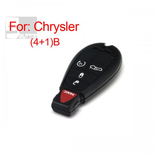 Smart Key Shell 4+1 Button for Chrysler Durable In Use