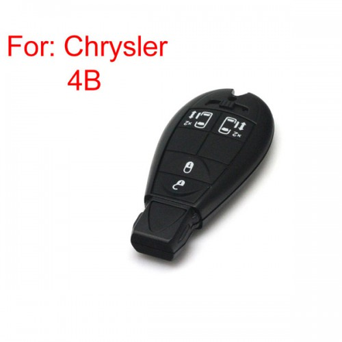 New Smart Key Shell 4 Button for Chrysler
