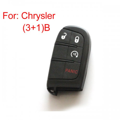 Remote key shell 3+1 button for Chrysler