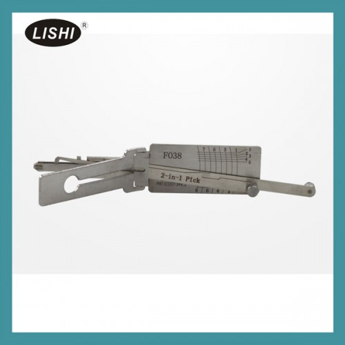 LISHI FO38 2-in-1 Auto Pick and Decoder for Ford/Lincoln