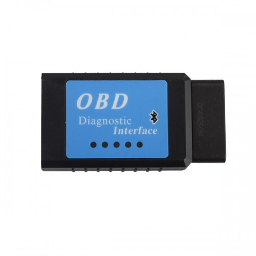 ELM327 V1.5 Bluetooth Version CAN BUS EOBD OBDII Scan Tool Software V2.1
