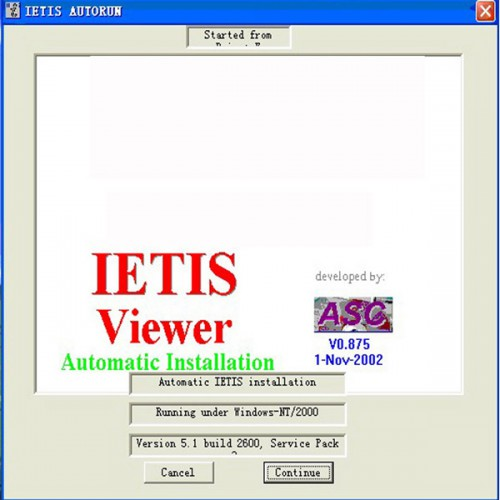 IETIS Car Repair Information Accessories Catalog System for Bentley