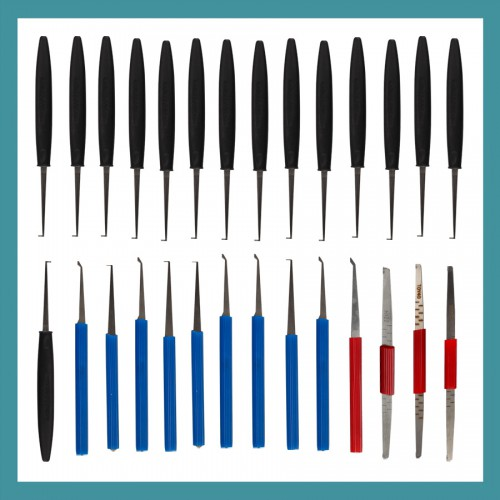 LiSHI Series Lock Pick Set 28 in 1 for Different Car