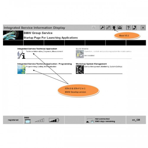 2014.11 BMW Rheingold ISTA-D 3.45.40 ISTA-P 53.5.003 Software HDD Multi Language Expert Mode