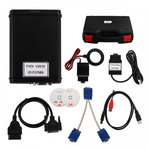FVDI ABRITES Commander For DAF With Free Hyundai/ Kia And TAG Key Tool Software V6.2 Software USB Dongle