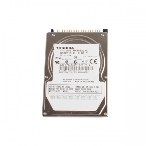 Internal Hard Disk T30 HDD with IDE Port only HDD without Software 80G
