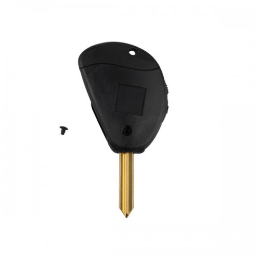 Flip Remote Key Shell 2 Button for Citroen 5pcs/lot Free Shipping