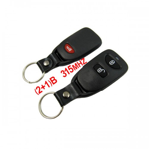 (2+1) Remote Key 315MHZ for Hyundai Santa Fe Free Shipping