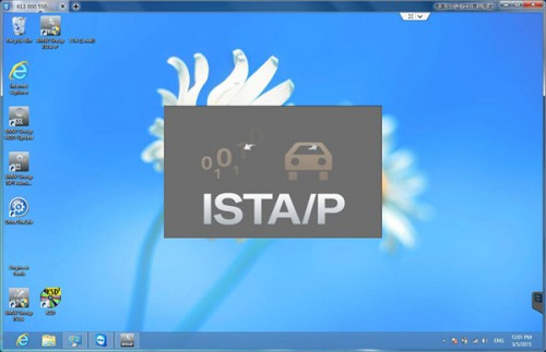 2015.1 BMW ICOM Rheingold ISTA-D 3.47 ISTA-P 54.3 Software HDD with Engineers Programming Support Windows 8