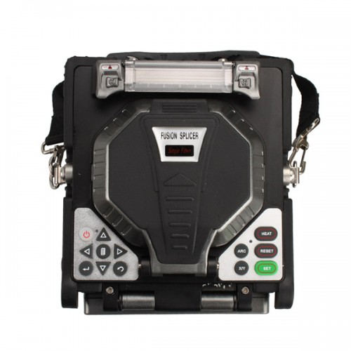 "Original RY-F600 Fusion Splicer with Optical Fiber Cleaver automatic focus function 5.6"" LCD"