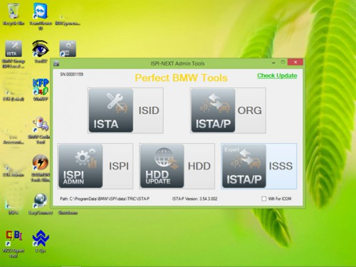 V2015.02 BMW ICOM Rheingold ISTA-D 3.47.20 ISTA-P 3.54.3.002 Win8 System 500GB New HDD without USB Dongle Support Multi-Languages