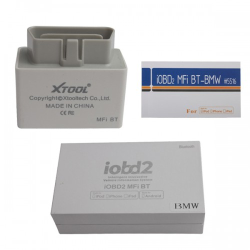 Newest iOBD2 Diagnostic Tool for BMW Work on iPhone/iPad by Bluetooth with Multi-language