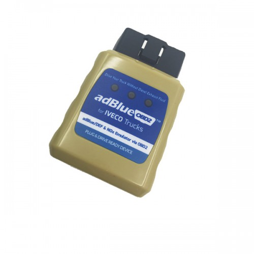 Ad-blue-OBD2 Emulator for IVECO Trucks Plug and Drive Ready Device by OBD2