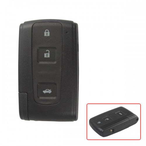 Smart Key Shell 3Button (with the key blade) for Toyota Crown