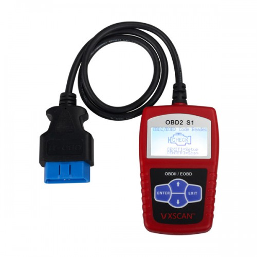 Original VXSCAN S1 EOBD DIY OBDII Code Reader Free Shipping from USA Warehouse