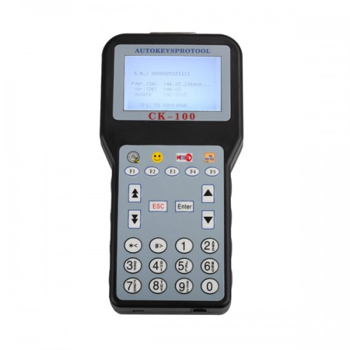 CK-100 Auto Key Programmer V46.02  SBB with 1024 Tokens