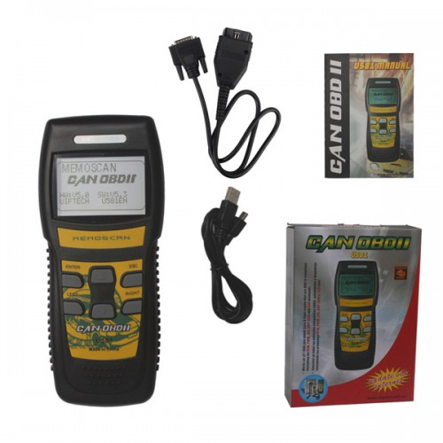 U581 LIVE DATA OBD2 EOBD Scanner Can-Bus Code Reader