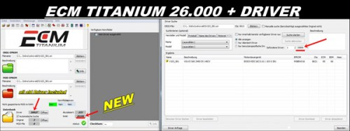 NEW VERSION ECM TITANIUM 1.61 With 18259+ Driver
