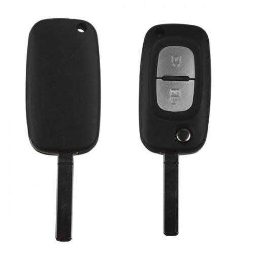 2 Button 433MHZ Folding Remote Key With 46 Chip for Renault