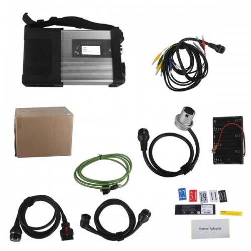 MB SD Connect Compact C5 (SD C4) Star Diagnosis with WIFI for Cars and Trucks Supports Multi-Languages