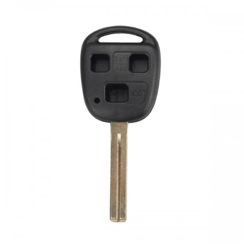Remote Key Shell 3 Button without Logo TOY48(Long) For Lexus 5pcs/lot