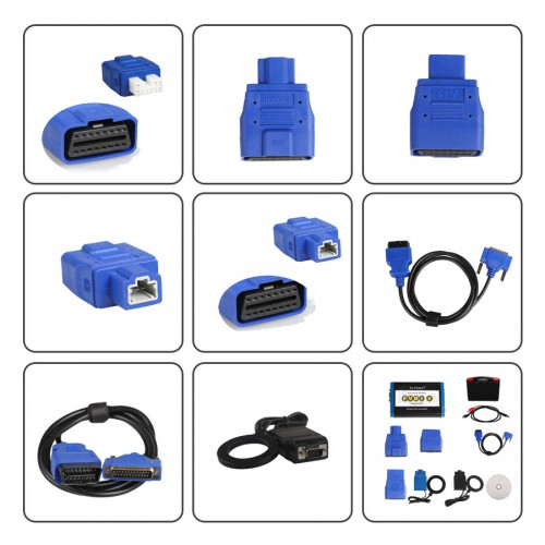 FVDI2 FVDI 2 ABRITES Commander For V-A-G VW Audi Seat Skoda (V24.0) With Software USB Dongle with Free DAF or Bike Software