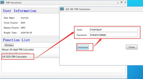 JLR SDD Coded Access Password with 100 Times Online Activation