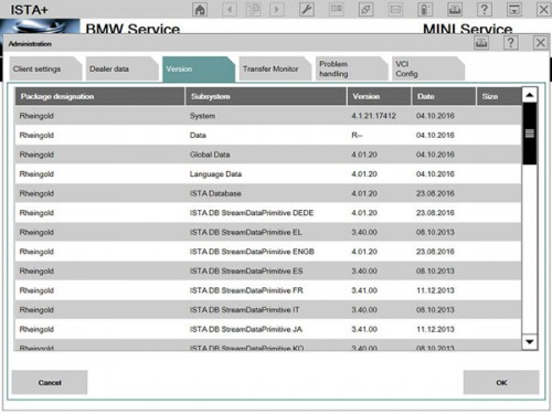V2016.9 BMW ICOM ISTA-D 4.01.21 ISTA-P 3.59.4.004 Win7 HDD with Free FSC tool and BMWAi Coder
