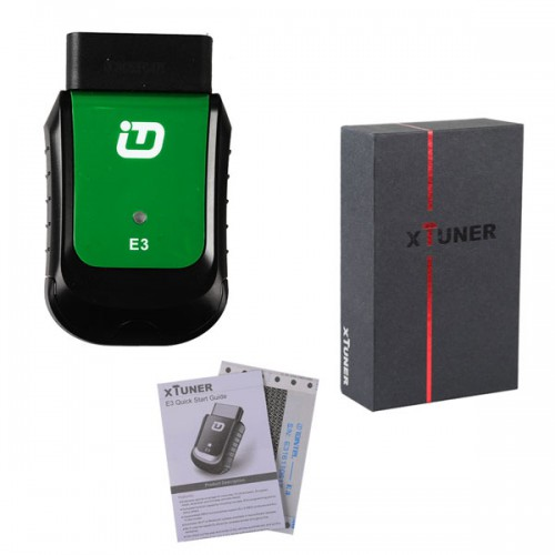 XTUNER E3 OBD2 Scanner Wireless OBDII Diagnostic Tool Pefectly Replaces VPECKER Easydiag V8.1 Supports  WIN10 Ship from US/UK