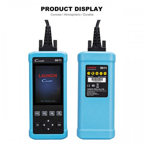LAUNCH DIY Code Reader CReader 8011 Full OBD2 Scanner OBD+ABS+SRS+Oil+EPB+BMS for TOYOTA/FORD/BENZ