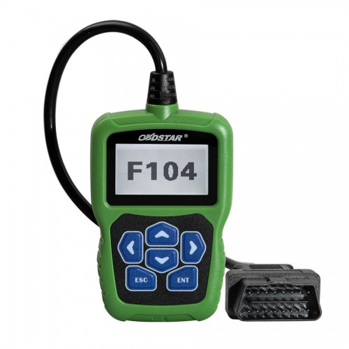 OBDSTAR F104 Key Programmer for Chrysler/Jeep/Dodge with Odometer Correction and Pin Code Reader Function No Token Free Update Online