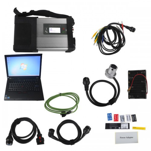 V2019.12 MB SD Connect C5 Star Diagnosis with 256GB SSD Software Plus Lenovo T410 4GB Second Hand Laptop With DTS Monaco & Vediamo