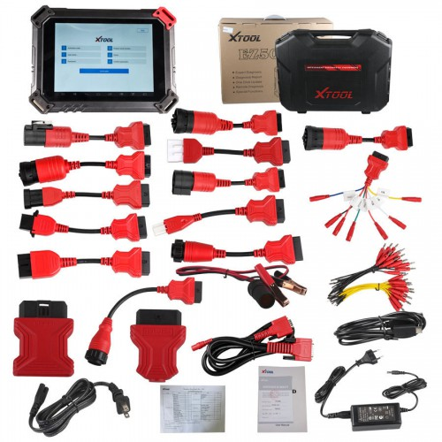 Original XTOOL EZ500 HD Heavy Duty Full System Diagnosis with Special Function(Same function as PS80)
