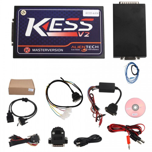 New V2.37 KESS V2 Unlimited Token Version Firmware V4.036 ECU Tuning Kit