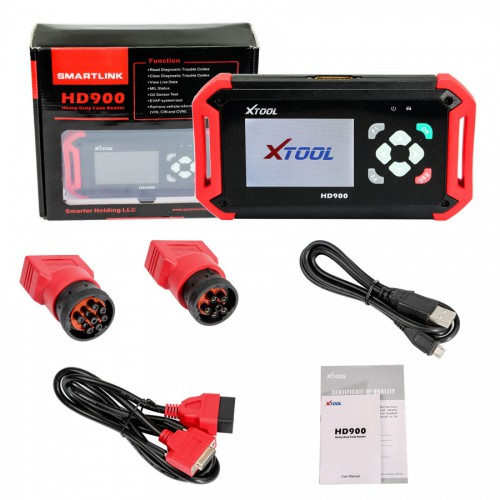 Latest Original XTOOL HD900 Heavy Duty Truck Code Reader Replace PS201 Diagnosis No Need Activation