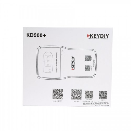Newest KEYDIY KD900+ Bluetooth Remote Maker for IOS/Android Smartphone