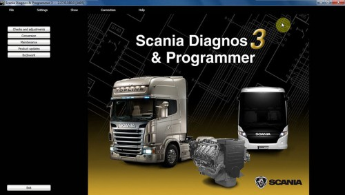 Newest Scania SDP3 V2.31.1 Software for SCANIA VCI2 without USB Dongle No need Activation