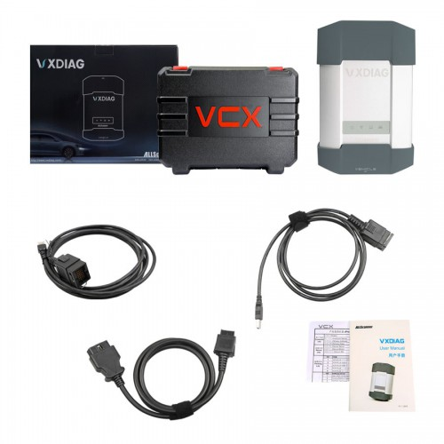 VXDIAG Multi Tool for BMW & BENZ 2 in 1 Scanner With Software HDD XENTRY DAS  BMW ISTA-D V40.01.21, ISTA-P V3.59.4.004
