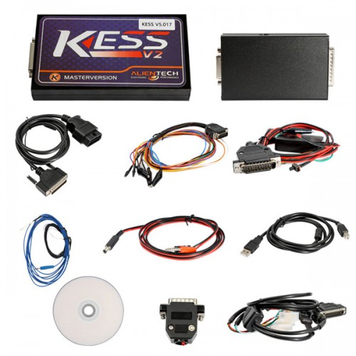 Newest Kess V2 V5.017 Online Version No Tokens Limitation V2.47 Kess V2 OBD2 Manager Tuning Kit Auto Truck ECU